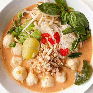 Thai namya curry noodle