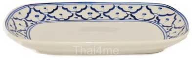 Thai rectangula serving platter
