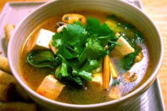 Vetgetable Tom Yum Soup
