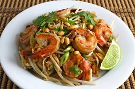 Thai pad tom yum
